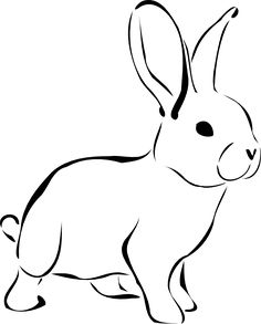 236x293 Brown White Rabbit Facing Left White Rabbits, Rabbit