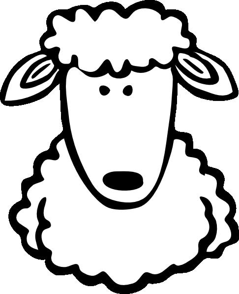 486x597 Sheep Clip Art