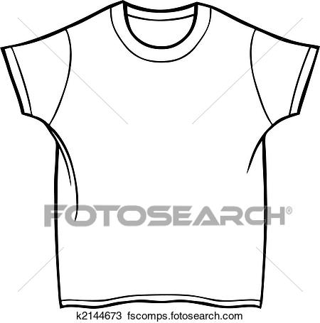 450x455 Clipart Of Tee Shirt K2144673
