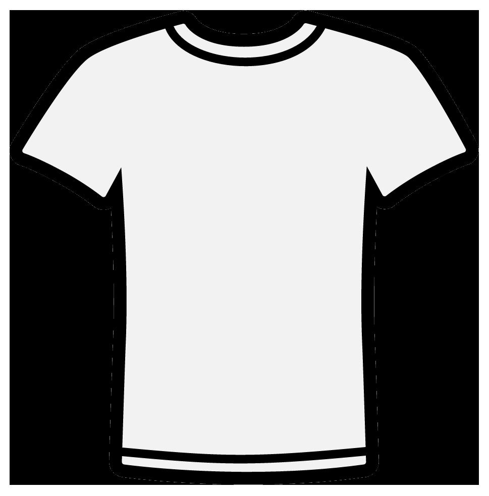 969x983 Shirt Outline Clip Art Online Calendar Templates