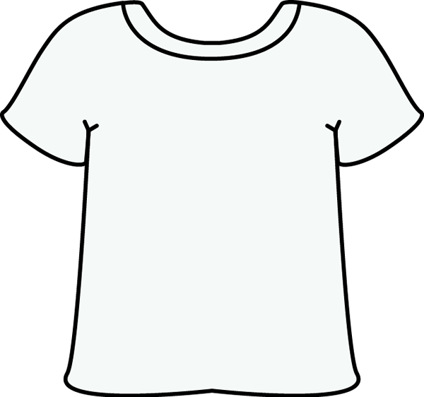 600x562 Shirt Template Clip Art
