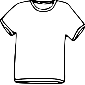 300x300 T Shirt Shirt Template For Kids Clipart