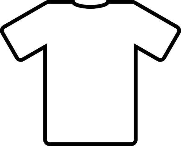600x486 White T Shirt Clip Art Free Vector In Open Office Drawing Svg