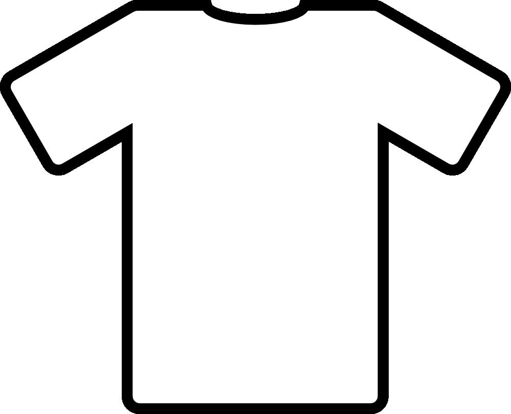 999x809 Clip Art Blue T Shirt Black White Line Art Svg