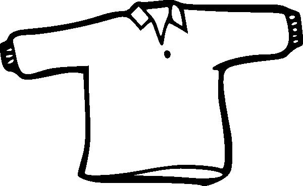 600x369 Clip Art Black And White Shirt Clipart