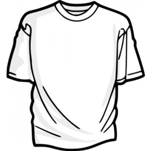 300x300 Clip Art Black And White Shirt Clipart