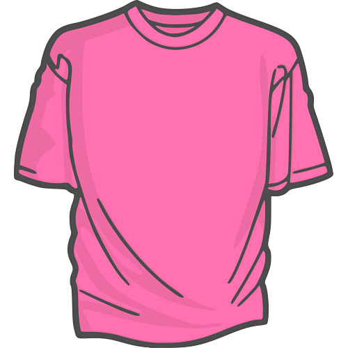 500x500 Clip Art Shirt Outline Free Vector For Free Download About Image
