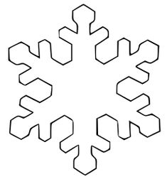 235x259 Snowflake Simple Shapes Coloring Pages Amp Coloring Book