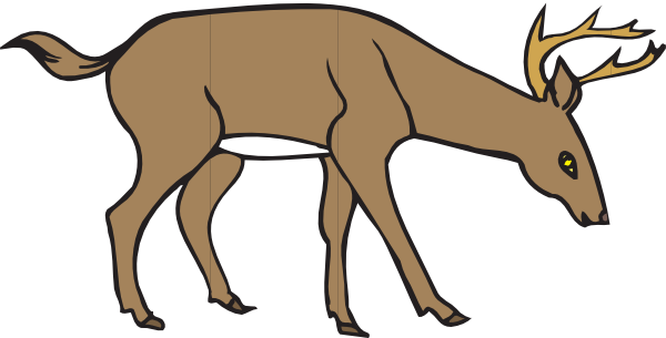 600x305 Deer Clipart Free Clip Art Images 2 Clipartcow