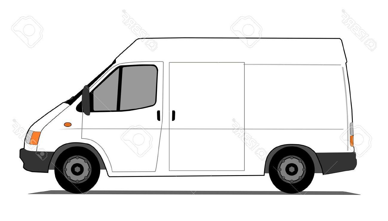 White Van Clipart