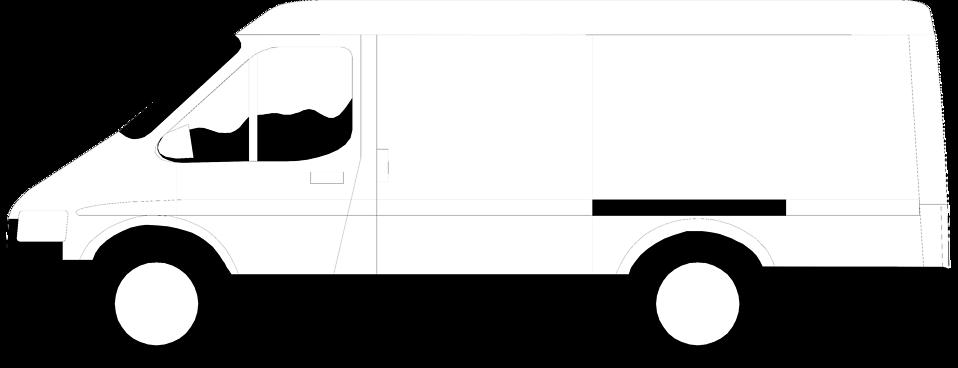 958x368 Van Free Stock Photo Illustration Of A White Van