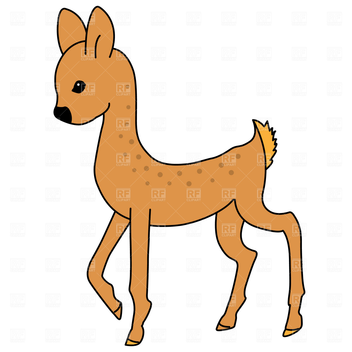 1200x1200 Eps Clipart Of Deer