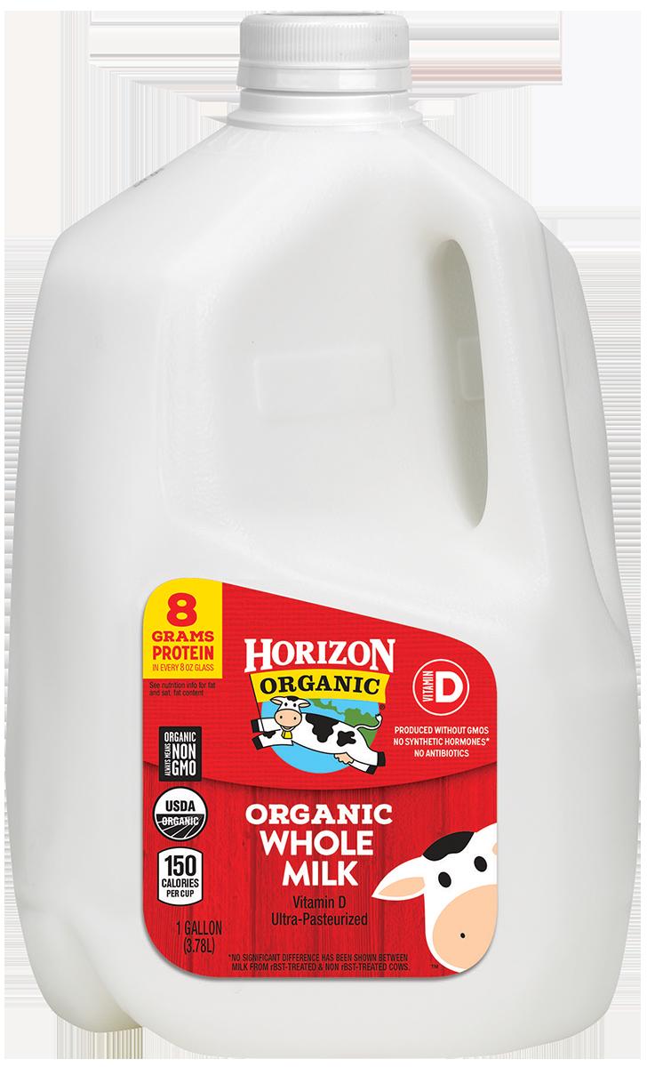 737x1200 Horizon Organic Whole Milk, 1 Gal