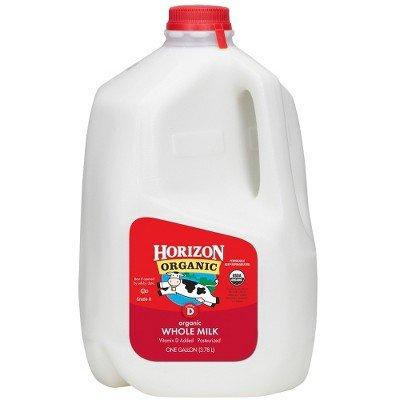 400x400 Horizon Organic Whole Milk