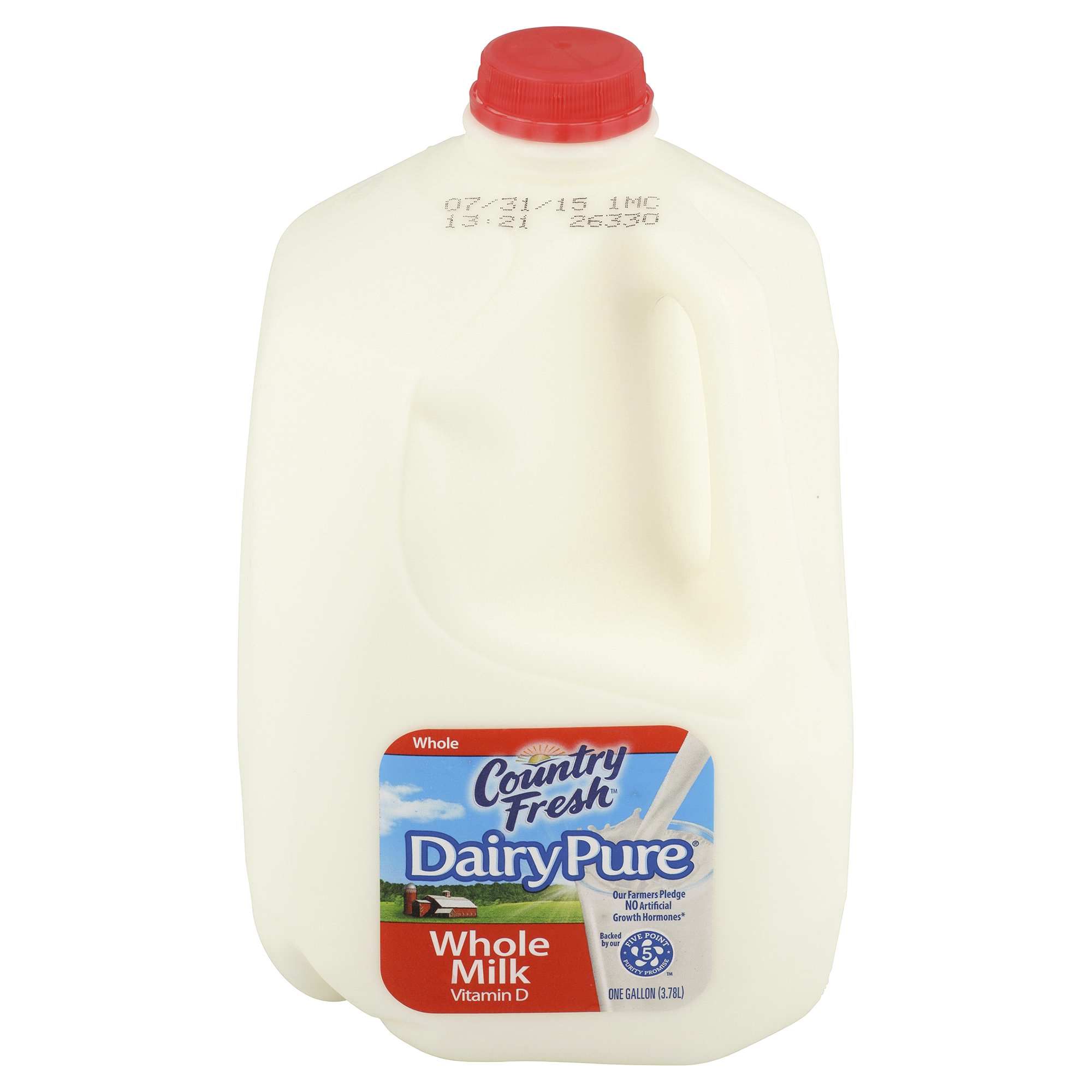 2000x2000 Country Fresh Dairy Pure Whole Milk 1 Gallon