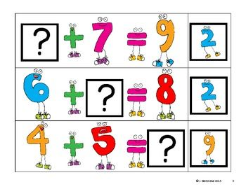Whole Numbers Clipart