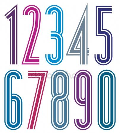 405x450 Whole Numbers Stock Vectors, Royalty Free Whole Numbers