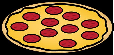 450x219 Whole Pepperoni Pizza Clip Art Whole Pepperoni Pizza Image