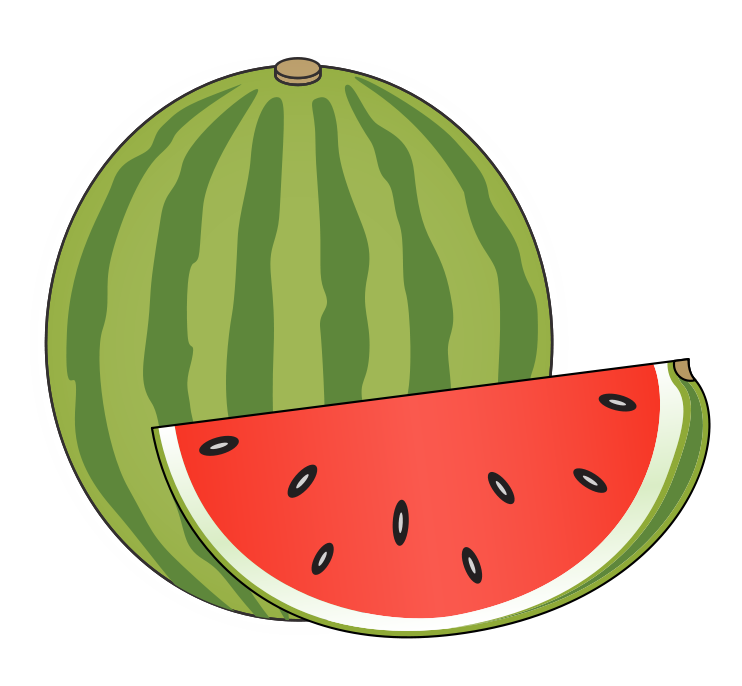742x686 Fruit Clipart Watermelon Clipart Gallery ~ Free Clipart Images