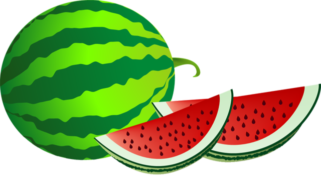 640x372 Fruit clipart watermelon