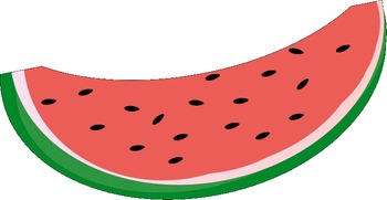 350x181 Watermelon Clip Art by Miss Vanessa Teachers Pay Teachers