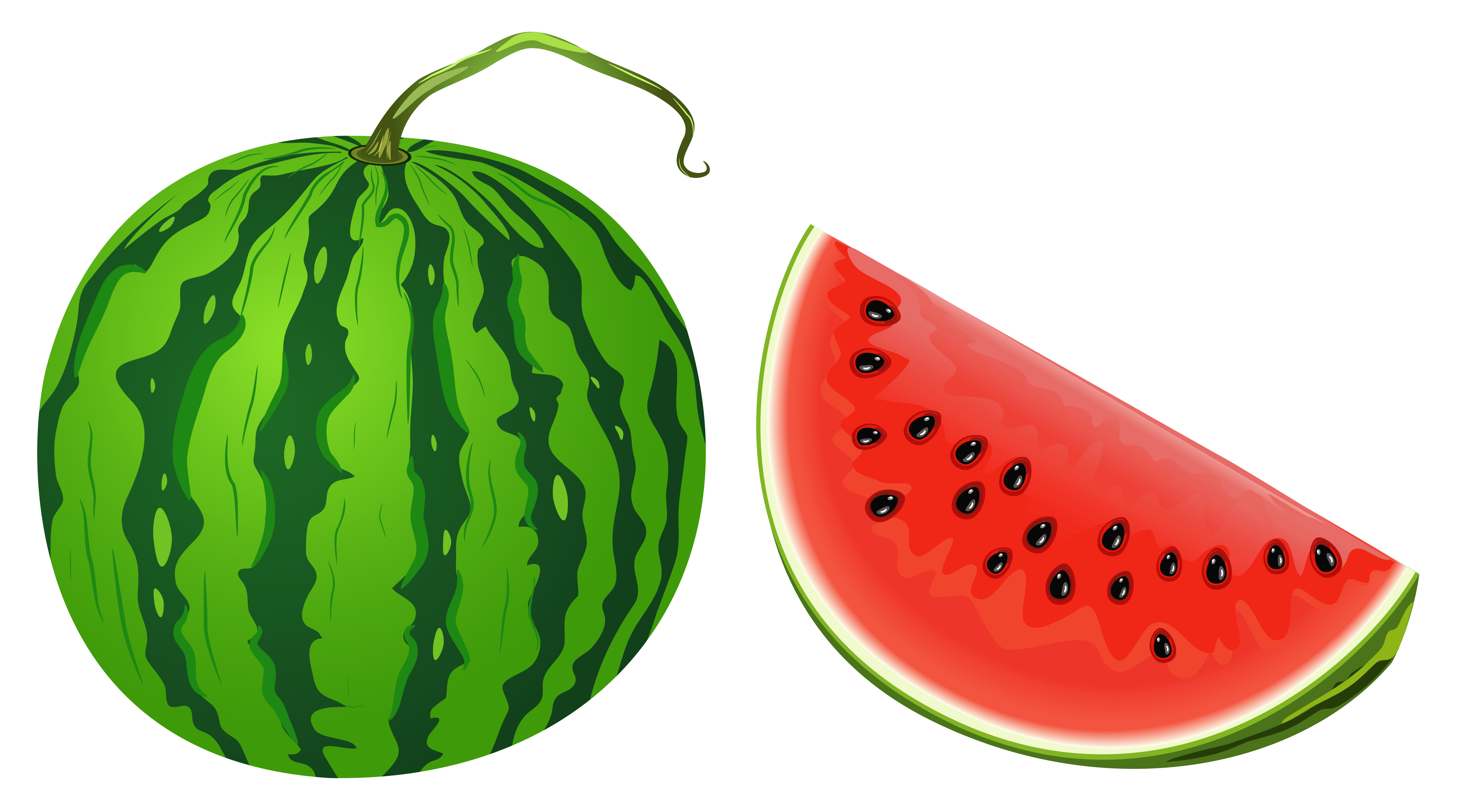 5472x3036 Watermelon PNG Vector Clipart Imageu200b Gallery Yopriceville