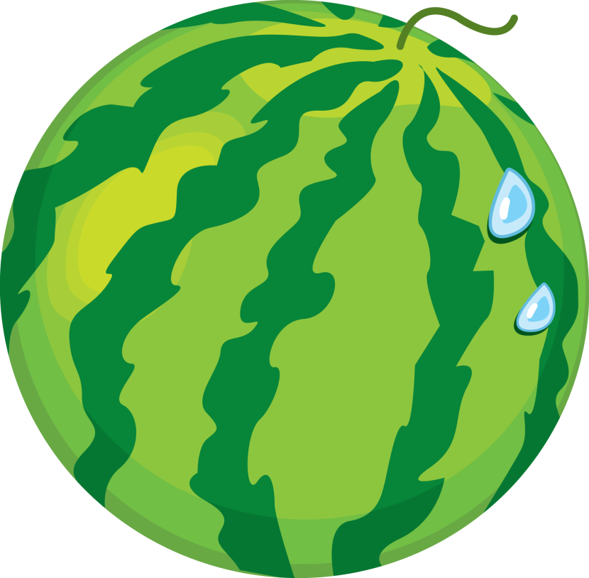 830x814 Watermelon clipart cartoon whole