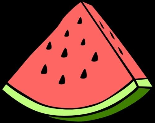 500x397 Best 25+ Watermelon clipart ideas Summer clipart