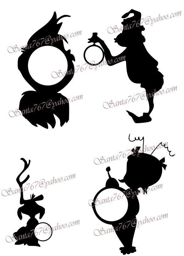 586x815 Grinch Monogram Svg 2 By Daviddesignshop On Etsy Christmas
