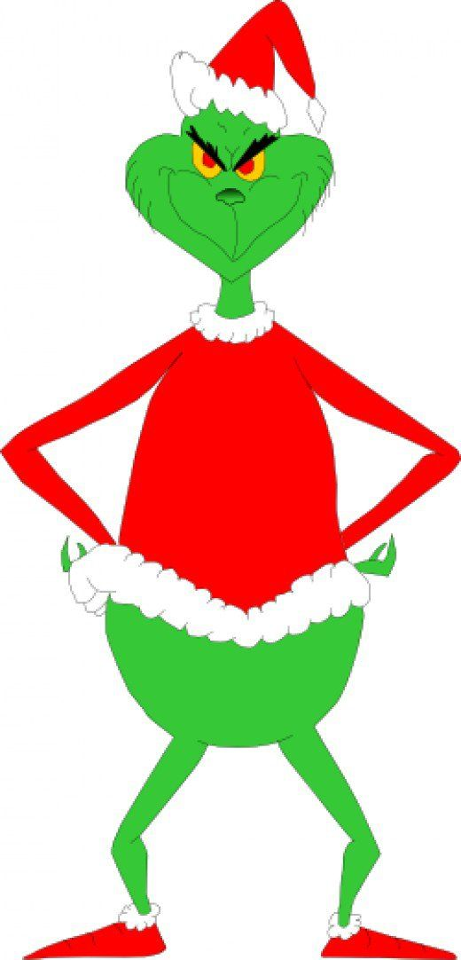 520x1082 How To Draw The Grinch Santa Suits, Santa And Grinch
