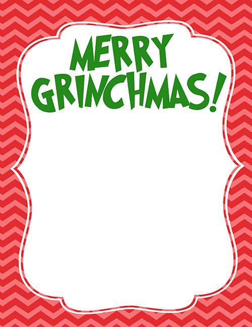 500x647 The Grinch Handprint Christmas Card With Printable Grinch