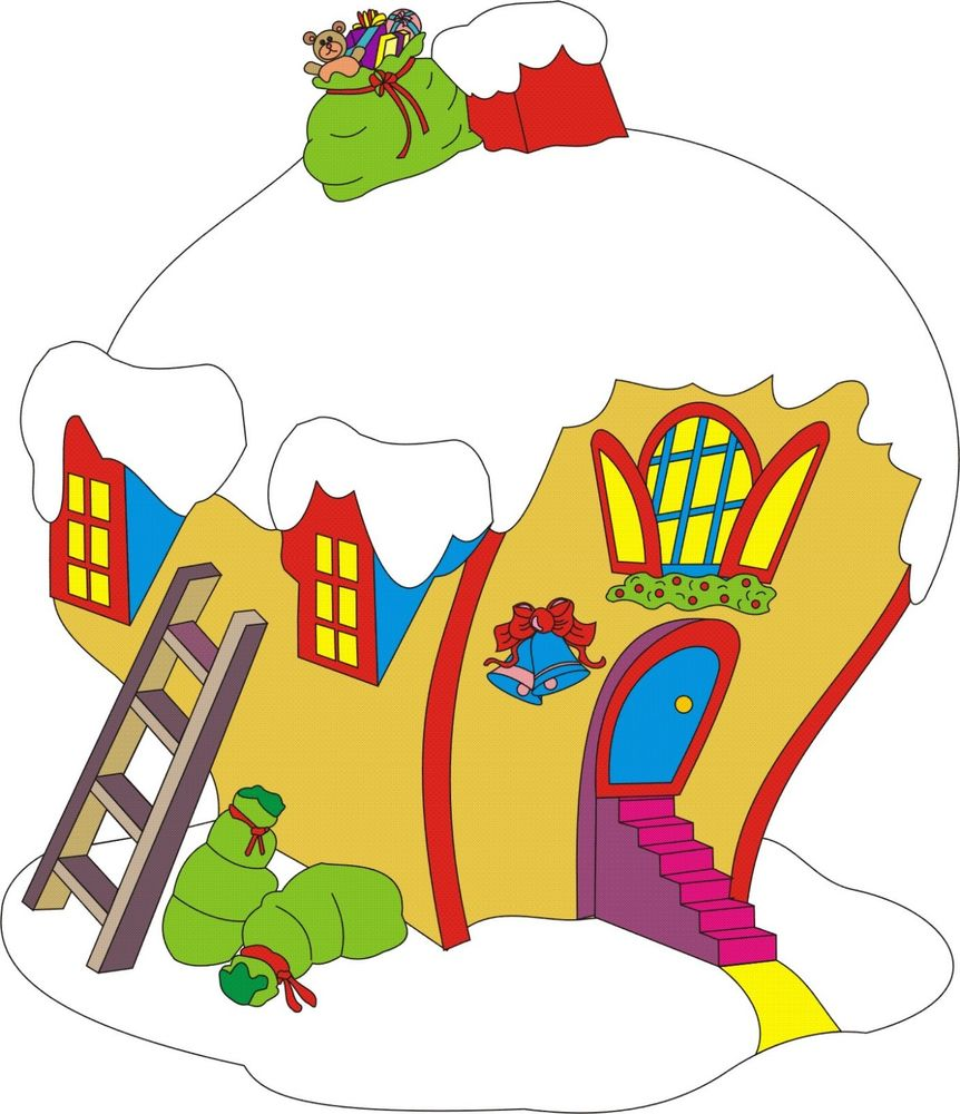862x1000 Whoville Cindy Lou House Christmas Yard Art Pattern Wood Working