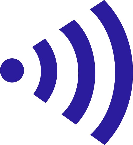 552x599 Plain Wifi Right Png, Svg Clip Art For Web