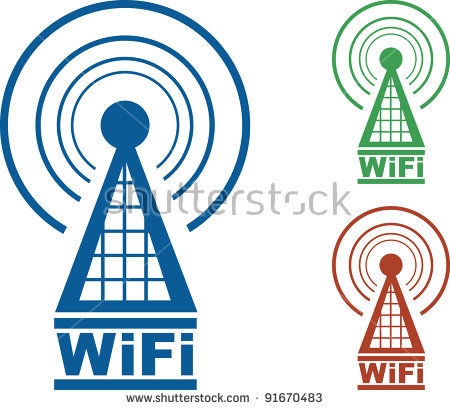 450x410 Tower Clipart Wifi