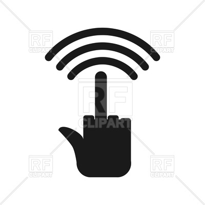 400x400 Wi Fi Fuck. Wifi Hatred. Royalty Free Vector Clip Art Image