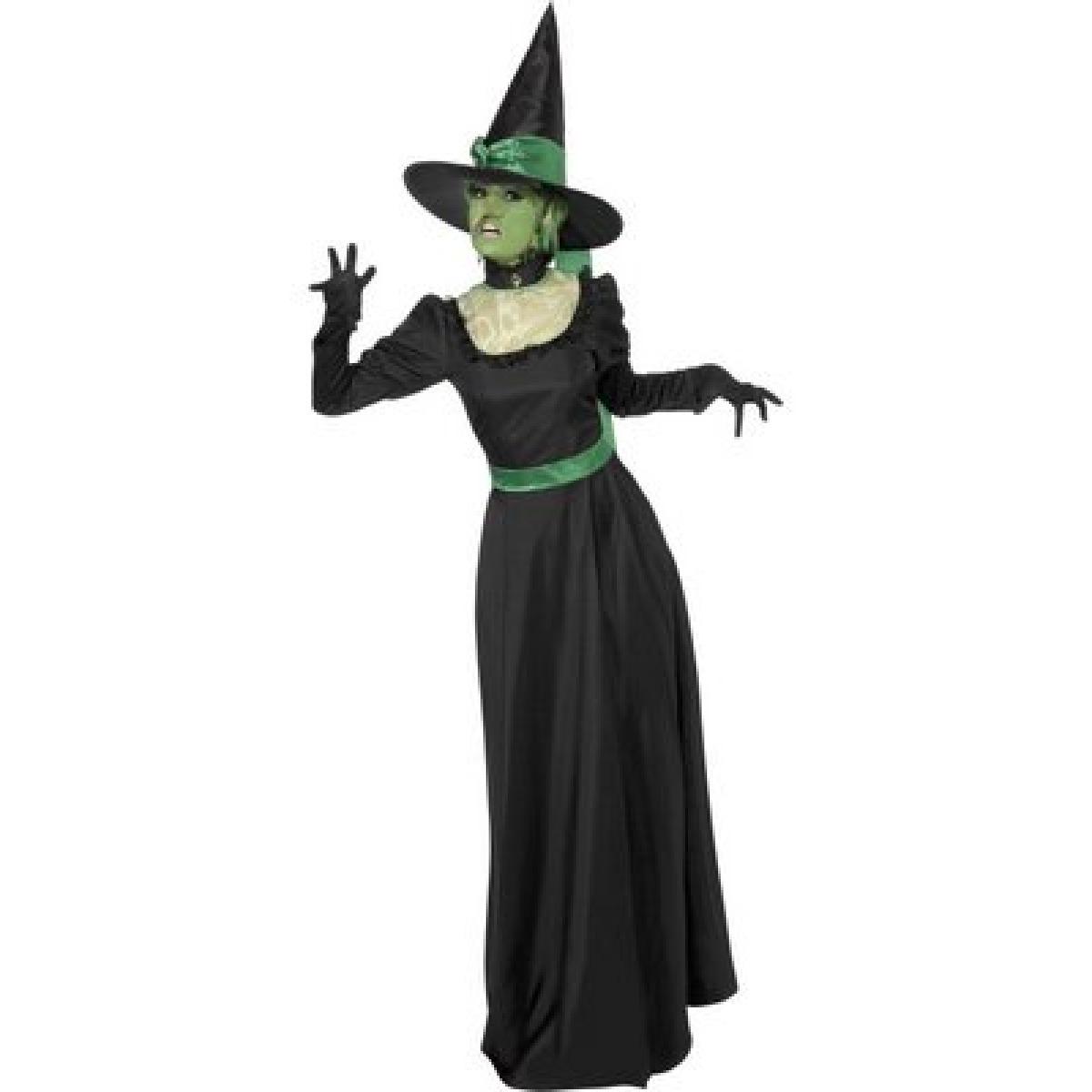 1200x1200 Ladies Wicked Witch Halloween Fancy Dress Costume 33134