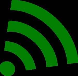 300x291 Green Wifi Clip Art