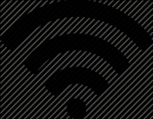 512x398 White Clipart Wifi