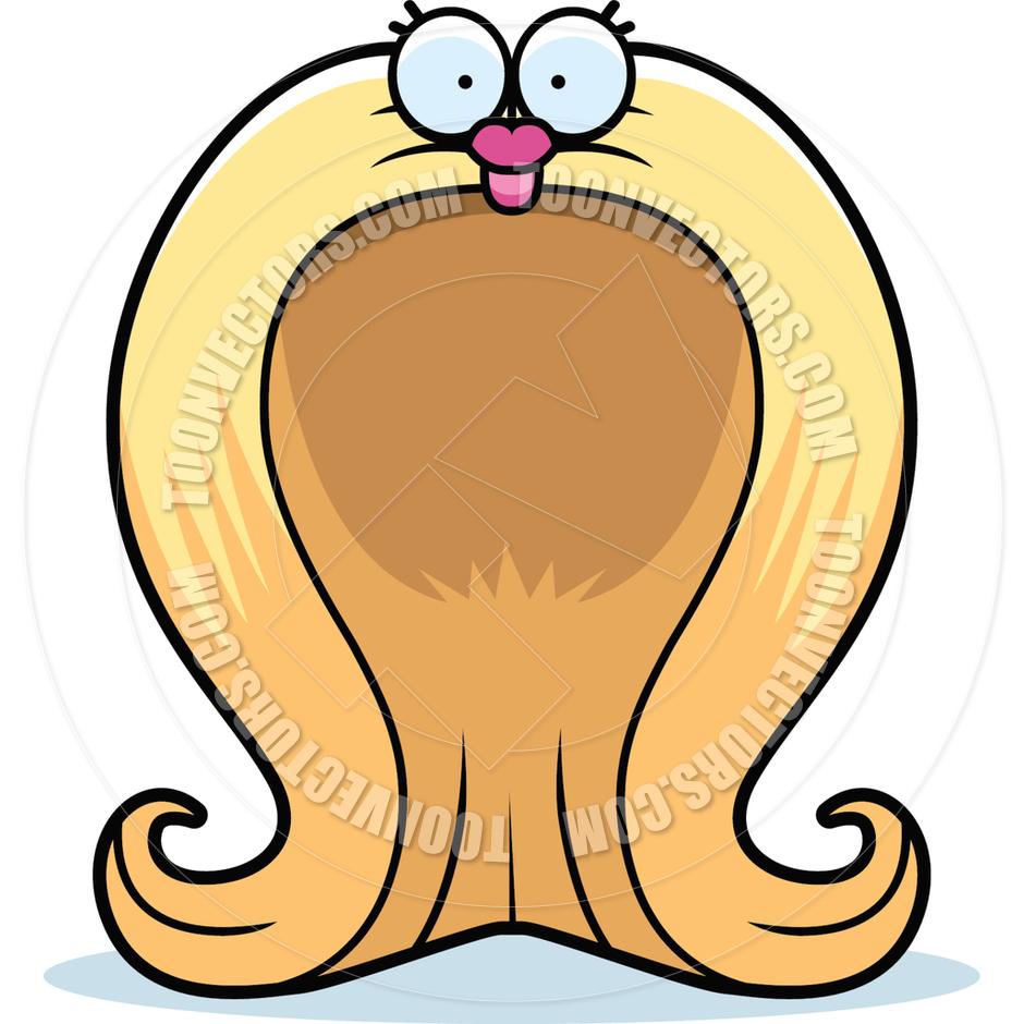 940x940 Cartoon Wig By Cory Thoman Toon Vectors Eps