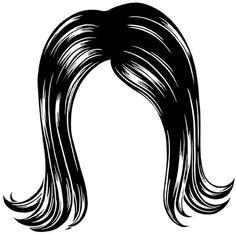 236x234 Hair Wig Clipart