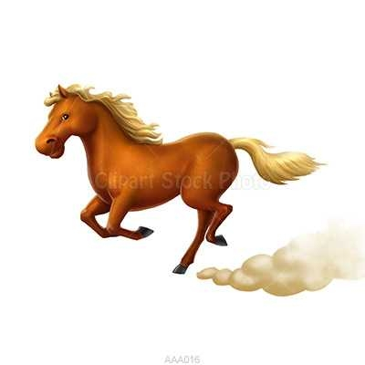 400x400 Horse Clip Art Free Running Wild Horse Picture Cartoon