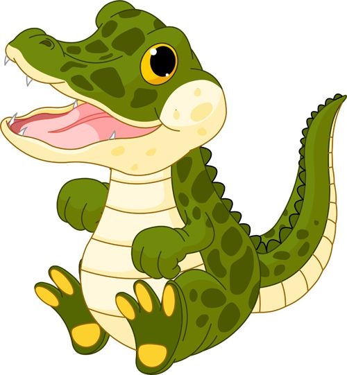 500x541 Crocodile Clipart Wild Animal