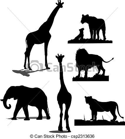 425x470 Wildlife Clipart African Wildlife