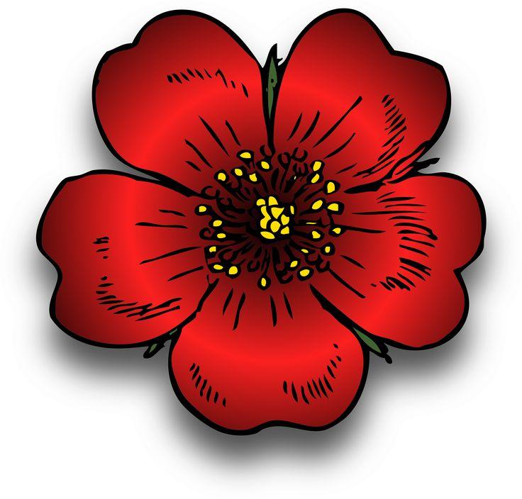 736x704 17 Best Clip Art Images Clip Art, Flowers