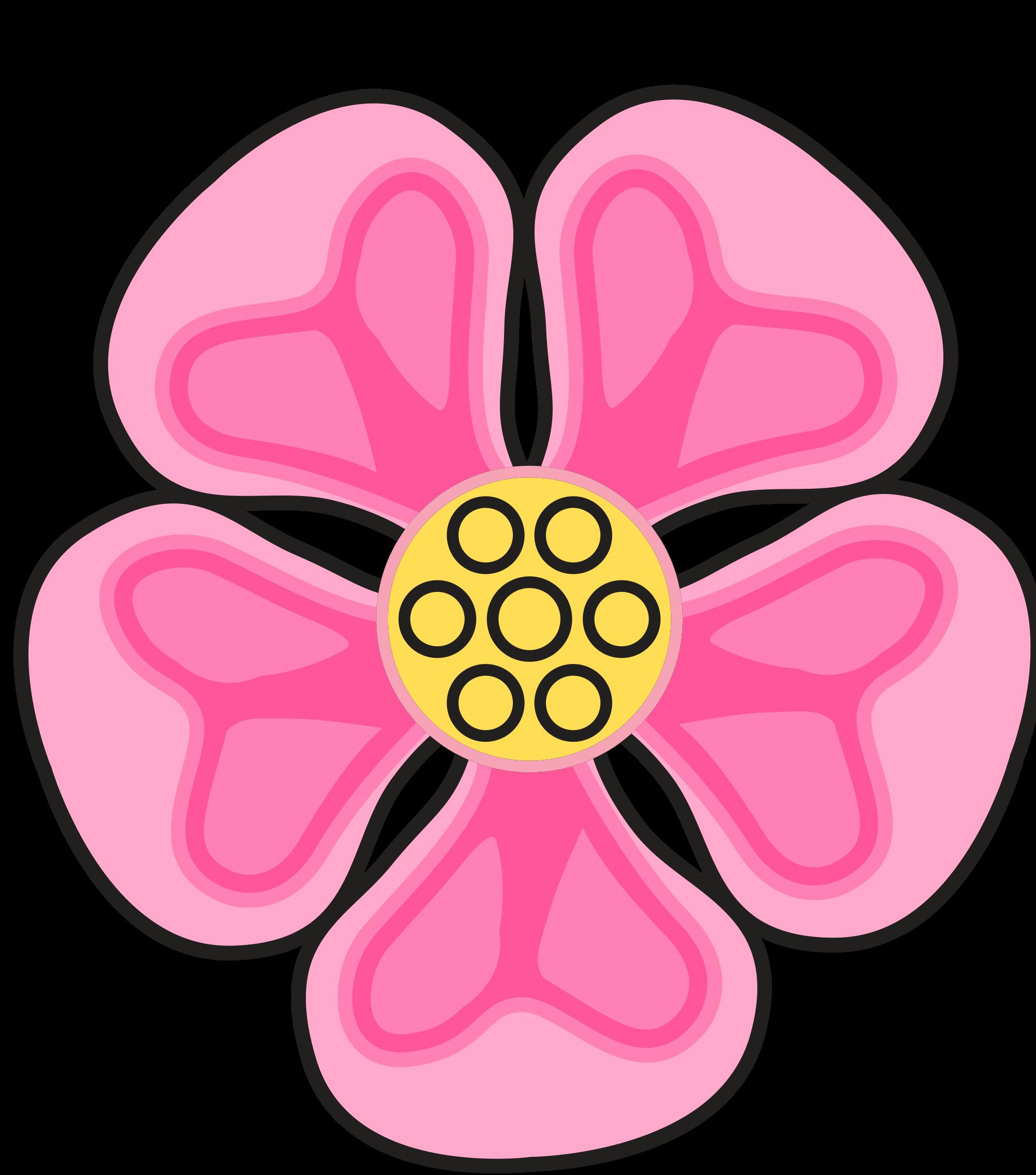 2000x2267 Filewild Rose.svg