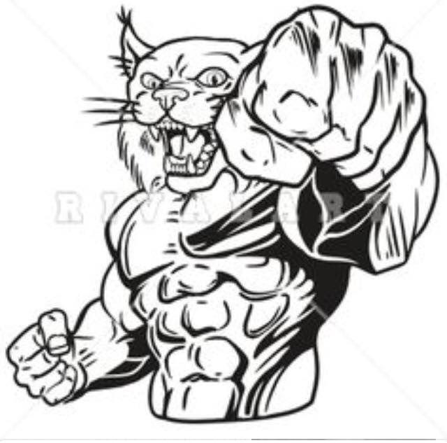 Wildcat Clipart Free