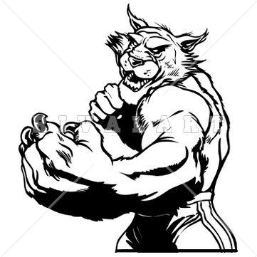 Wildcat Logo Clipart