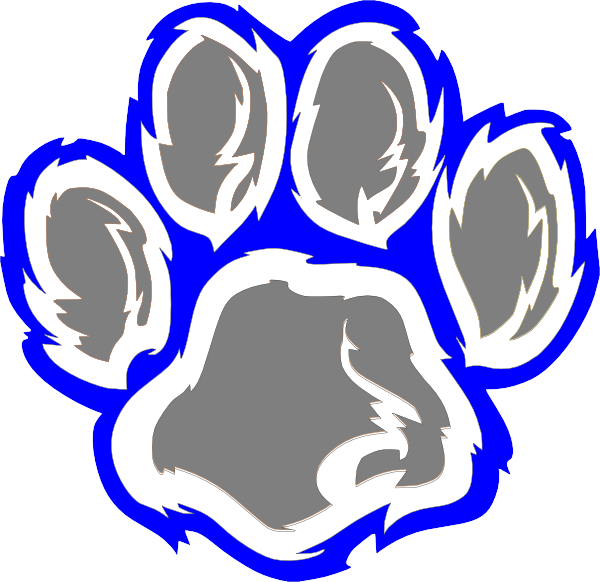 600x582 Wildcat Clipart Wildcat Paw Hipng, Uk Wildcats Mascot Drawing