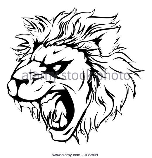 520x540 Lion Mascot Clip Art Stock Photos Amp Lion Mascot Clip Art Stock