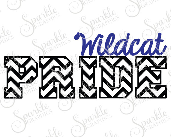 570x456 Wildcat Pride Cut File Wildcat Svg Wildcat Mascot Mascot Svg
